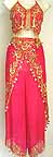 Magenta Belly Dancer Costume Dress B bc