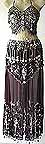 Bordeaux Belly Dancer Costume Dress DS