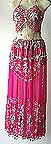 Magenta Belly Dancer Costume Dress DS