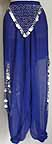 Belly Dancing Harem Pants Blue Ac