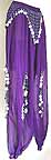 Purple Belly Dancer Harem Pant Ae BC