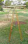Antique Nautical Telescope 40 inch long 60 inch Tripod