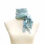 Pashmina Scarf size 18 x 60 inches Choice of 34 Colors
